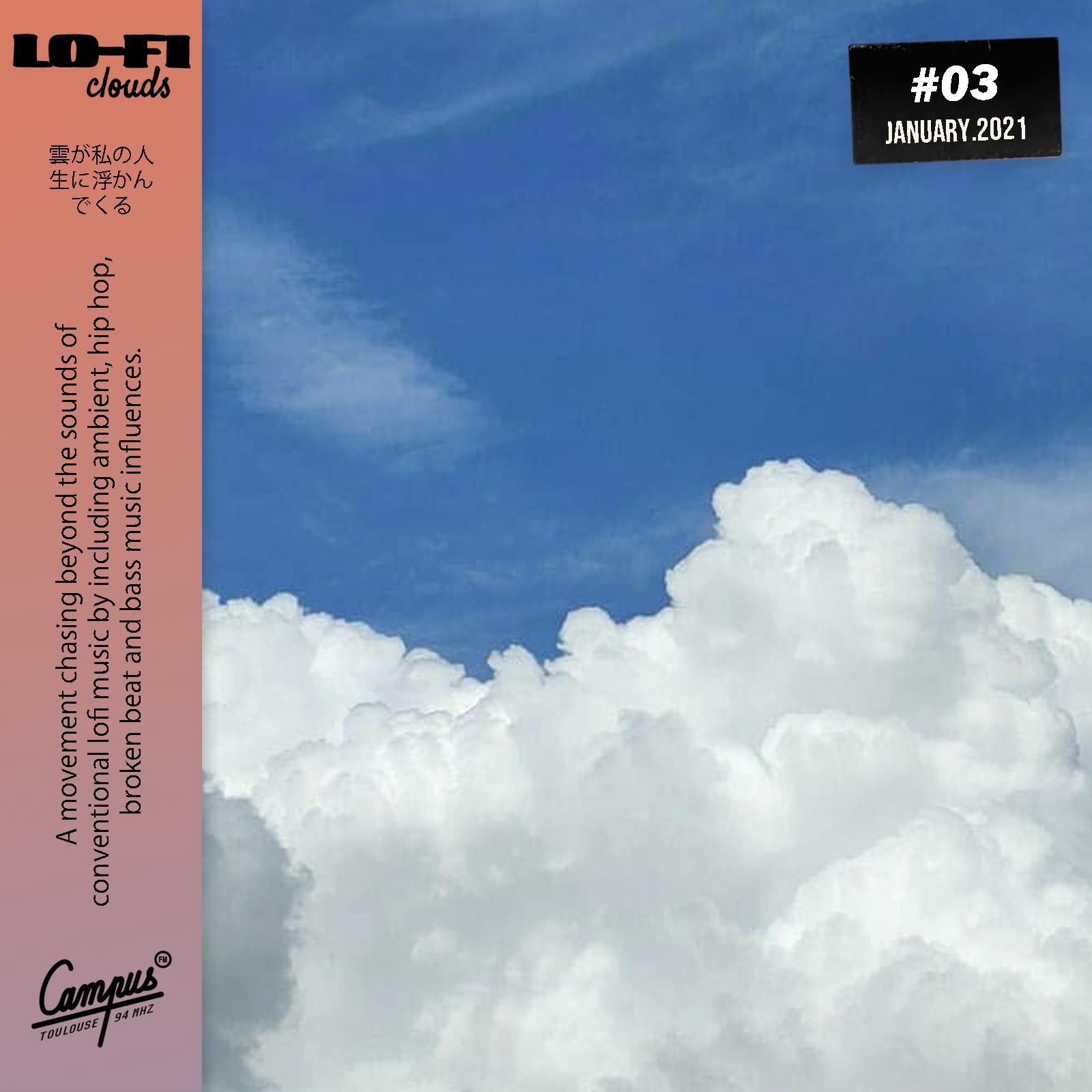 Lofi-clouds on CampusFM - January 2021 Studiomix cover